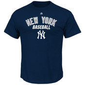 New York Yankees Majestic All of Destiny Adult T-Shirt