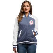 New York Yankees Majestic Athletic Greatness Ladies Varsity Jacket