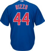 Anthony Rizzo Jersey - Chicago Cubs Replica Adult Royal Blue Jersey