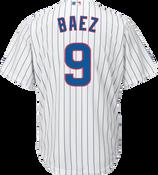 Javier Baez Jersey - Chicago Cubs Replica Adult Home Jersey