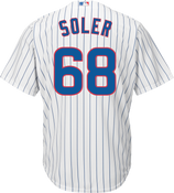 Jorge Soler Jersey - Chicago Cubs Replica Adult Home Jersey