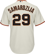 Jeff Samardzija Jersey - San Francisco Giants Replica Adult Home Jersey