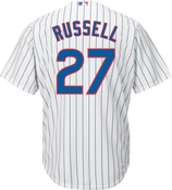Addison Russel Youth Jersey - Chicago Cubs Replica Kids Home Jersey