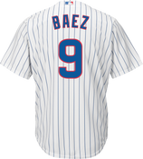 Javier Baez Youth Jersey - Chicago Cubs Replica Kids Home Jersey