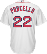 Rick Porcello Youth Jersey - Boston Red Sox Replica Kids Home Jersey