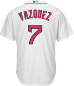 Christian Vazquez Youth Jersey - Boston Red Sox Replica Kids Home Jersey