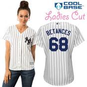 Dellin Betances NY Yankees Replica Ladies Home Jersey