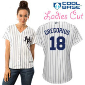 Didi Gregorius NY Yankees Replica Ladies Home Jersey