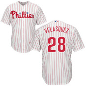 Vincent Velasquez Youth Jersey - Philadelphia Phillies Replica Kids Home Jersey