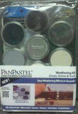 PanPastel 30702 Greys, Grime & Soot Weathering Kit