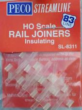 PECO SL-111 HO Insulated Rail Joiners code 83 pk/24
