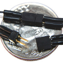 TCS 1301 2 pin Mini Connector - Black & White Wires