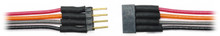 TCS 1475 4 Pin Micro Connector - Colored Wires