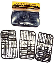CENTRAL VALLEY 1603 HO Switch-Turnout & Track Detail kit