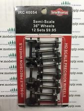 """InterMountain 40054 36"""" Semi-Scale Wheelsets (12 pack)"""