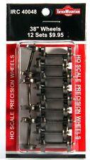 """InterMountain 40048 38"""" Standard Tread Wheelsets (12 pack)"""