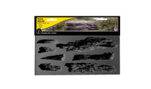 Woodland Scenics C1247 Rock Mold - Shelf Rock