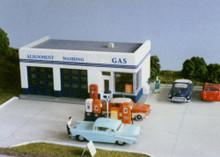 City Classics 108 HO Crafton Ave Service Gas Station (Kit)