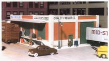 City Classics 107 HO Carson St Rail / Truck Terminal Kit
