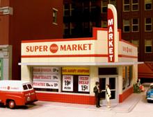 City Classics 114 HO West End Super Market Kit