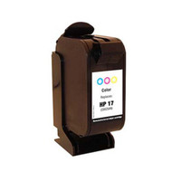 Remanufactured  HP 17C (C6625AN) Tri-Color Ink Cartridge