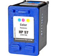 Remanufactured  HP 57  (C6657AN) Tri-Color Ink Cartridge