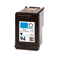 Remanufactured Hewlett Packard HP 94 (C8765WN) Black Ink Cartridge