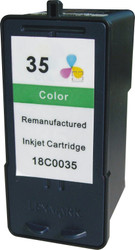 Remanufactured Lexmark 18C0035 (35) High Yield Color Ink Cartridge