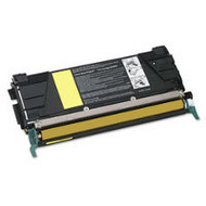 Remanufactured Lexmark C5222YS Yellow Laser Toner Cartridge