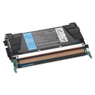 Remanufactured Lexmark C5240CH High Yield Cyan Laser Toner Cartridge