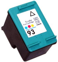 Remanufactured Hewlett Packard C9361WN (HP 93) Tri Color Ink Cartridge