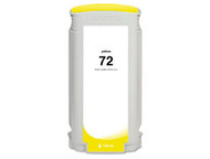 Remanufactured Hewlett Packard C9373A (HP 72) Hi-Yield Yellow Ink