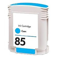 Remanufactured Hewlett Packard C9425A (HP 85 ) Cyan Ink Cartridge