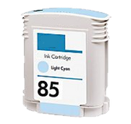Remanufactured Hewlett Packard C9428A (HP 85 Light Cyan) Ink Cartridge