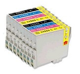Remanufactured Epson T069  Cartridge Set of 15