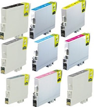 Remanufactured Epson T060 Cartridge Set of 9