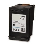 Remanufactured Hewlett Packard CC654AN (HP 901XL) Hi-Yield Black Ink