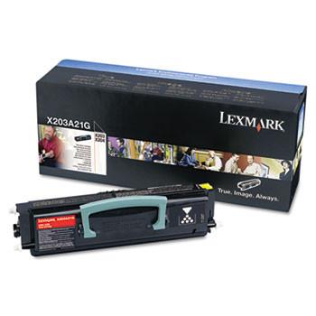 Lexmark X203A11G Black Laser Toner Cartridge is an original OEM manufactured cartridge.