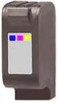 Remanufactured Hewlett Packard C1823D  (HP 23) Tri Color