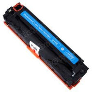 Remanufactured Replacement Laser Toner  for CF211A (HP 131A) Cyan