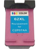 Remanufactured Hewlett Packard HP 62XL High Yield Black Ink Cartridge