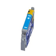 Remanufactured Epson T033220 (T0332) Cyan Ink Cartridge