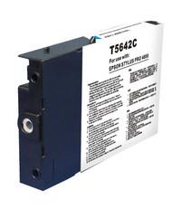 Compatible Epson T564200 (T5642) Cyan Pigment Ink Cartridge