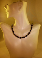 Blue goldstone Necklace (Ladies)