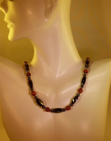 Brown Goldstone Necklace (Ladies)