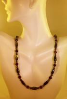 Red Tigereye Necklace (Ladies)