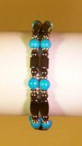 Howlite Turquoise Bracelets (Ladies)