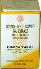 Lovage Root Combo Tea Extract Pill