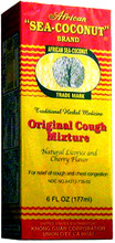 African Sea Coconut Brand Original Cough Mixture