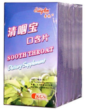 soothe throat lozenge